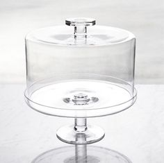 Shop Footed Cake Stand with Dome. For spectacular dessert presentation, our glass cake stand is generously sized to elevate and accommodate larger cakes or tortes. The fitted dome preserves freshness, topped by a functional knob handle for easy lifting. Crate And Barrel, Cake Stand With Lid, Dessert Presentation, Cake Pedestal, Cake Dome, Cake Platter, Wood Cake, Glass Jars With Lids, Glass Bottles