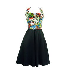 Custom Made Circle  Dress / Choose your Fabric/ by VintageGaleria