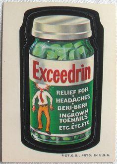 Exceedrin   OldBrochures.com