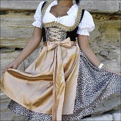 German - Austrian - Oktoberfest - Dirndl - Dress  #Dress