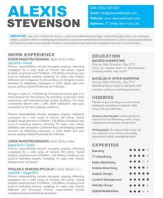 Creative Resume Design   HttpTopresumeInfoCreative