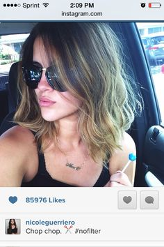 Nicole guerriero short hair
