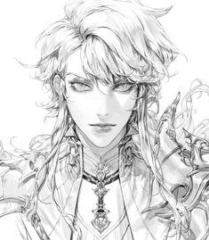 Digital Art Tutorial, Anime Sketch, Boy Art, Art Reference Poses, Pretty Art, Aesthetic Art, Manga Art, Art Inspo, Line Art