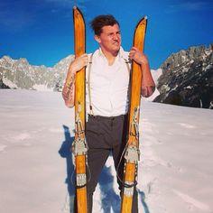 .... weil #ski foarn des leiwandste is! #fromaustria.com Winter Sports, Skiing, Bomber Jacket, Jackets, Fashion, Ski, Down Jackets, Moda, La Mode