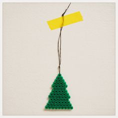 Hama Christmas tree at DIY - Design it yourself