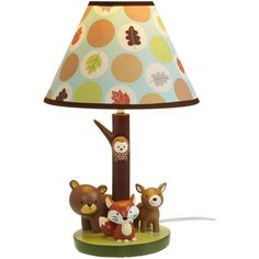 Lamp - I LOVE this! for a little boy