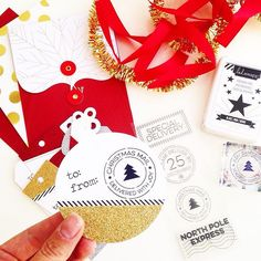 Christmas Stamps, Cards, Tags, Ribbons Oh My! Personalized gift giving just got even prettier with these amazing @heidiswapp products coming soon to select @joann_stores only! #joann #heidiswappatjoann #hsohwhatfun #hsatjoann #joannstores #makeprettystuff #christmasiscoming #heidiswappholiday #cards #tags #stamps #stamping #ad