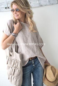 COSY Linen shirt, Beige