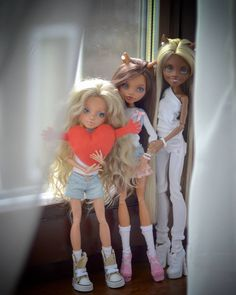 Emmy, Mia and Nicole-девочки вульф ООАК