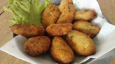 Um bolinho de peixe com um sabor sensacional para você servir de aperitivo!