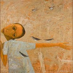 Paul Martin was born in 1948 and studied Painting and Printmaking at Birmingham College of Art and the Royal Academy Schools between 1967 and Paul Martin, Brown Image, Weird And Wonderful, Whimsical Art, Artsy Fartsy, Home Art, Painting & Drawing, Sculptures, Illustration