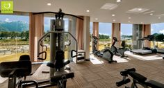 Begin your health routine on a glorious note at our spacious, well-equipped gymnasium.