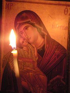 Ἅγιος Ἰωάννης ὁ Πρόδρομος: Σ᾿ Ἐκείνην! Madonna, Orthodox Icons, Religious Art, Dear Friend, Positive Quotes, Pray, Mona Lisa, Blessed, Faith