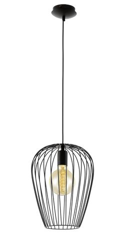 NEWTOWN 1L 275MM PENDANT BLACK