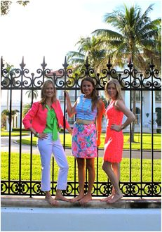 Then And Lately: Lilly Pulitzer Spring 2013 Sneak Peek, Henry Morrison Flagler Museum with Lilly Pulitzer's granddaughter, Lilly