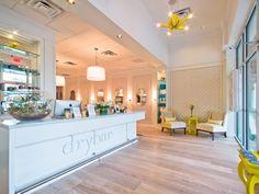 DryBar Houston hair salon August 2013 interior
