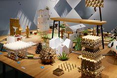 torafu architects inside out exhibition designboom