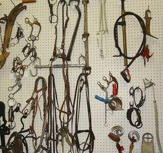 Vintage Horse Tack, Dealer 15 in the Main Antique Mall, Medford, Oregon