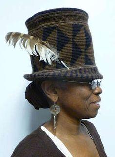 Xenobia Bailey's Western Medicine Hat.