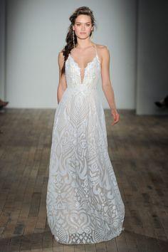 Blush by Hayley Paige wedding dress: http://www.stylemepretty.com/2017/04/26/blush-by-hayley-paige-spring-2018-bridal-week/