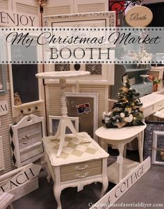 Craft Booth Display Ideas/examples of how to set up to look pleasing