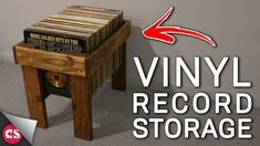 Attempt at a Vinyl Record Storage Thing https://www.youtube.com/watch?v=9YlaeuLjoic