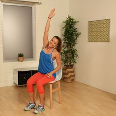 The latest tips and news on Fitness Video are on POPSUGAR Fitness. On POPSUGAR Fitness you will find everything you need on fitness, health and Fitness Video. Senior Fitness, Fitness Tips, Health Fitness, Popsugar, Barre Workout, Chair Workout, Outdoor Gym, Get Skinny, Travel Workout