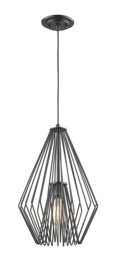 Filament Design Matte Black Mini Pendant with Matte Black Steel Shade - inch Mini Pendant Lights, Pendant Lighting, Brushed Nickel Chandelier, Fashion Room, One Light, Modern Lighting, Lighting Design, Matte Black, Ceiling Lights