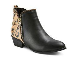 Woman's Betsyville Rockstar Ankle Boots Black, $44.99, target.com   - Seventeen.com