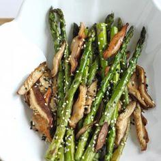 Sesame Roasted Asparagus Recipe - ZipList