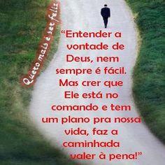 Mensagem de Reflexão homem caminhando na estrada