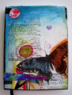 Mixed Media Art Journal Original One of a by NotableEncounters, $19.99