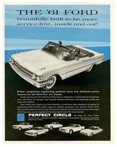 '61 Ford models