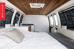 Before & After: This Guy Converted an Old Cargo Van into a Tiny Mobile Apartment