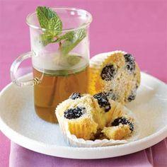 Prim Rose Hill Studio: ♥ Tea on Tuesday: Blackberry-Almond Tea Cakes ♥ Tea Cakes, Cupcake Cakes, Cupcakes, Almond Tea, Breakfast Cake, Breakfast Ideas, Summer Berries, Almond Cakes, Tea Time