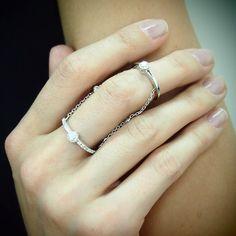 "Diamond ""Iceni"" Ring in White Gold by Yeprem for Plukka: https://www.plukka.com/jewelry/store/product?prodid=Diamond-Iceni-%28White%29-Ring_3cdfde867ba92735291fd3eb6300df4f"