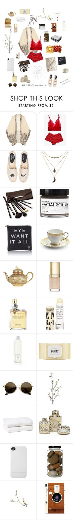 """That would be enough"" by hannah-grace ❤ liked on Polyvore featuring Anna Sui, Soludos, Charlotte Russe, Borghese, Fig+Yarrow, Eyeko, Prouna, Dolce&Gabbana, Hermès and Korres"