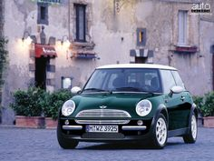 2010 Mini Cooper in British Racing Green. Love...