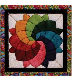 """Blossom Quilt Magic Kit-12""""X12"""", , hi-res"""