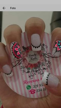 Cute Nails, Pretty Nails, My Nails, Fabulous Nails, Perfect Nails, Gel Nail Art, Nail Manicure, Nail Polish Designs, Nail Art Designs