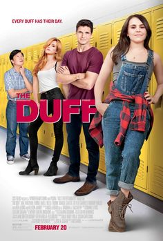 The Duff - IMDb - Directed by Ari Sandel. With Mae Whitman, Bella Thorne, Robbie Amell, Allison Janney. A high schoo - Teen Movies, Netflix Movies, Funny Movies, Comedy Movies, Series Movies, Great Movies, Movies Online, Movies To Watch Teenagers, Family Movies