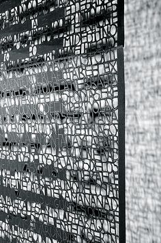 Pablo Lehmann | The Other S Writing (detail), 2010 | cut-out paper