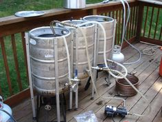 All grain brewing - Home Brew Forums - Great idea from repurposed kegs