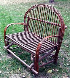 Twig willow loveseat. Must build