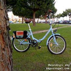 Bicicleta dobrável Órbita Eurobici Sky  folding bike