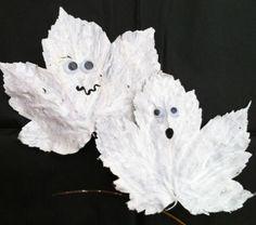 Ghastly ghosts - Halloween crafts - Netmums
