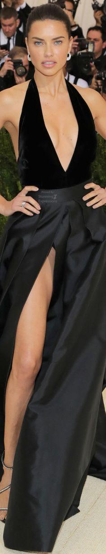 Adriana Lima - Alberta Ferretti - Met Gala 2017