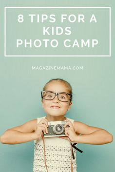 Want to teach photography at a kids camp?  Here are some tips to help get you started!