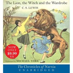 The Lion, the Witch and the Wardrobe by CS Lewis (PDF). Chronologically the book in the Chronicles of Narnia children/young-adult fantasy series. It tells how Peter, Susan, Edmund, and Lucy Pevensie discover the magical wardrobe that takes them to Narnia. I Love Books, Great Books, Books To Read, Chronicles Of Narnia, Children's Literature, Classic Literature, Classic Books, Teaching Reading, Guided Reading
