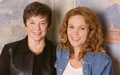 Frances Mayes, left, with Diane Lane, who played her in the film adaptation of her memoir 'Under the Tuscan Sun'